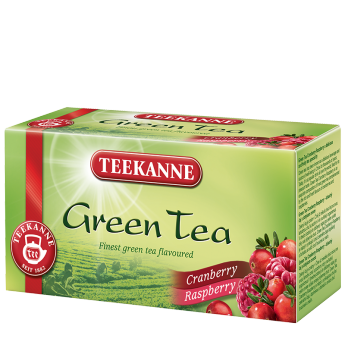 Green Tea Cranberry & Raspberry
