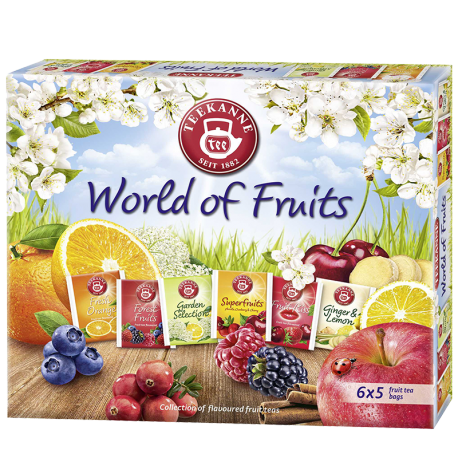 World of Fruits Collection Box
